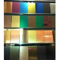 Buy cheap SUS316L 8K Mirror Polish Finish Stainless Steel Sheet 4x8  4x10  6000MM/ SS 304 Sheet 0.3MM - 3 MM Plates product
