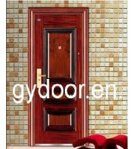 China Steel Door (GY-S001) on sale