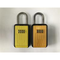 China Large Digital Dialing Portable Key Lock Box With Weather Proof Cover on sale