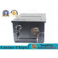 Homestyle Drop Box w / 2 Locks Locking Plate Of Gambling Poker Table To Install