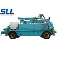 China Stability concrete spraying shotcrete machine for sale convey cylinder with long stroke on sale