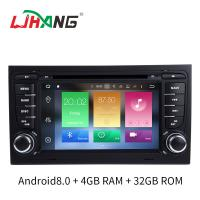 Buy cheap Multi Language SD FM MP4 Audi Car DVD Player 32 GB Mirror Link Supported product