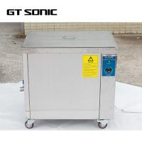 China Single Tank Industrial Ultrasonic Cleaner With Locking Wheels 40 Litres on sale