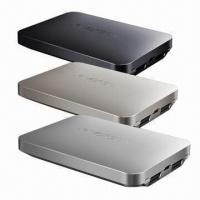 Buy cheap Original Design 8,000mAh Power Bank with Aluminum Alloy Housing, Li-polymer Battery/Dual USB Output product