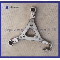 Buy cheap Black Rubber Suspension Bushings , Electrical Power Fittings Suspension Clamp product