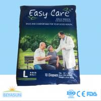 Buy cheap Dry Overnight Sleepy Adult Disposable Diapers Environmentally Friendly product
