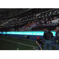 Buy cheap Sport Stadium Perimeter LED Display P16 DIP / 2R1G1B Video LED Perimeter Screen product