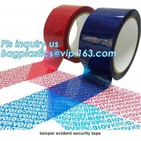 Buy cheap Adhesive Security Tape Transfer Total Transfer And Non Transfer VOID product