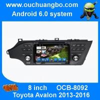 China Ouchuangbo car dvd gps navi android 6.0 for Toyota Avalon 2013-2016 with 1080P HD video decode playing via TF Card /USB on sale