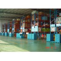 Buy cheap High Capacity Storage Pallet Warehouse Racking / Selective Pallet Racking System product