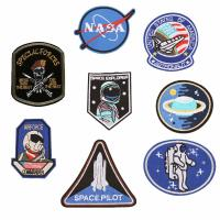 China Personalized Uniform Custom Woven Patches / Embroidered Logo Patches on sale
