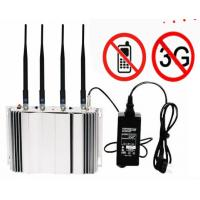 Buy cheap CDMA GSM Cell Phone Signal Blocker Device 1-20M Range For Auditoriums / Law Court product
