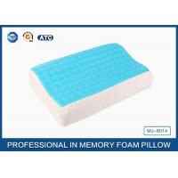 Buy cheap Softest Contour Dream Flat Memory Foam Pillow Stomach Sleeper , gel pillow case product