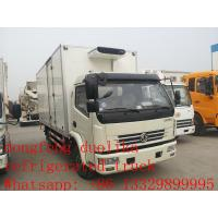 Buy cheap hot sale ISUZU Euro4 120hp 3 ton 4x2 refrigerator cooling van for sale product