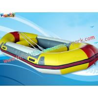 Buy cheap Customized 0.9mm Inflatable Boat Toys PVC Tarpaulin Fabric River Rafting product