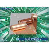Buy cheap 51'' x 39'' Dimension Heavy Electrolytic Copper Foil Rolls / pcb copper foil product