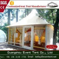 Buy cheap clear span yurt tent manufacturers , luxury pagoda hotel tent carpas from Wholesalers