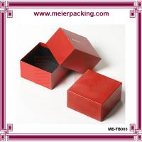 Buy cheap custom wedding cardboard box | paper jewelry ring boxes| Paper Jewelry Box ME-TB003 product