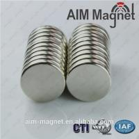 Buy cheap Neodymium Strong disc Magnet For Clothing product