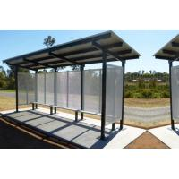 Buy cheap Fashionable Generous Stainless Steel Bus Stop Eco Friendly Takes Up Little Space product