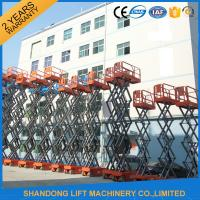 Buy cheap High Rise Telescopic Work Platform for Elevated Aerial Working 3.2km/h Travel Speed product