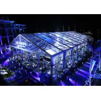 Buy cheap Beautiful Clear Span Tents Transparent Canopy With Colorful Lights For Wedding from Wholesalers