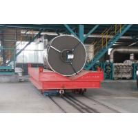 Buy cheap Low Voltage Conductor Rail Transfer Cart , Industrial Transfer Car For Cargo Handling product