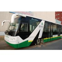 Buy cheap 14 Seat 6 Door Diesel Engine Airport Transfer Bus Airport Coaches 110 passengers capacity product