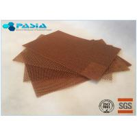 Buy cheap High Temperature Resistance Moisture Proof Aramid Honeycomb Core Sheet For Further Carving product
