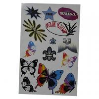 Buy cheap personalized body tattoo sticker product