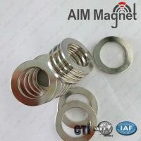 Buy cheap small ring shape 8mm OD neodymium magnet product