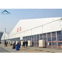Buy cheap PVC Roof Outdoor Exhibition Tents White / Clear / Orange , Fire Proof And Water Proof product