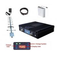 Buy cheap LTE Single Band Mobile Signal Booster 17 dBm Cover 60dB Gain with Accessories product