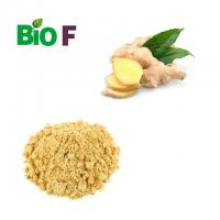 Buy cheap Healthy Vegetable Extract Powder Yellow Ginger Extract Powder Gingerol 5% product