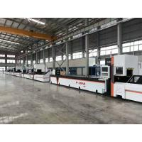 Buy cheap Full automatic feeding fiber laser metal tube cutting machine golden laser product