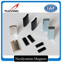 China Rare Earth Motor Custom Made Magnets Arc NdFeb Magnets For Cleaning Machine on sale