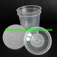 Quality clear PP spray gun paint mixing cup flexible PE material inner cup 800ml inner for sale