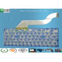 Buy cheap Keyboard Membrane Switch Multilayer Flexible Circuits , 2 Layers Fpc Flex Circuit Board product