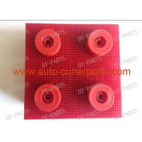 China Red Auto Cutter Bristle Nylon Bristle With Round Foot 130297 For  Vector 5000 Cutter Parts on sale
