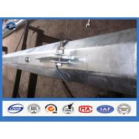 Buy cheap Q345 Q420 Q460 Hot dip Galvanized Electric Power Tranmission Steel Pole from Wholesalers