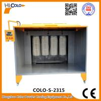 Buy cheap Open Four Filters Powder Painting Booth PLC control Box  Economic Powder Saving product