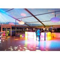 Buy cheap 35m Width Outdoor Clear Span Fabric Structures Fire Retardant For Exhibition Event from Wholesalers