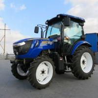 Buy cheap Newest 70HP 80HP Tractor 4WD Farm Tractor with Cab product