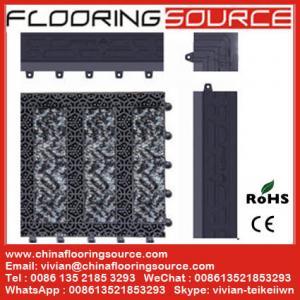 Outdoor Modular Entrance Carpeting Interlocking Tiles