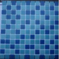 Buy cheap house floor and swimming pool tile blue product