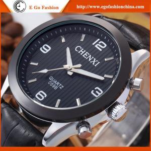 059B Genuine Leather Watch Sport Watch Quartz Analog Watches for Boy Girls Cheap Watches