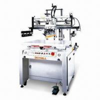 Buy cheap Large Format Pneumatic Flat Screen Printing Machine with Squeegee Printing System product