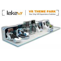 Buy cheap Fiber Glass VR Game Zone Virtual Reality Indoor Playground Customized product