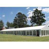 Waterproof High Peak 12m * 36m Clear Span Tent For Garden Party Fire Resistant Canopy