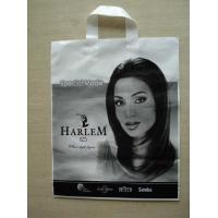 Buy cheap Handle Plastic Bags Lady Image , Custom Image for Shopping product